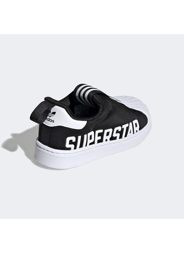 adidas Unisex Bebek SuperStar 360 Sneakers EG3408.Siyah Siyah